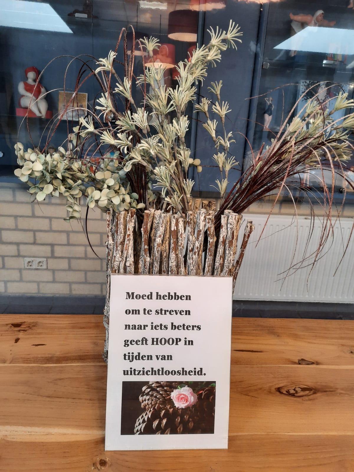 Positivisme bloemengroet